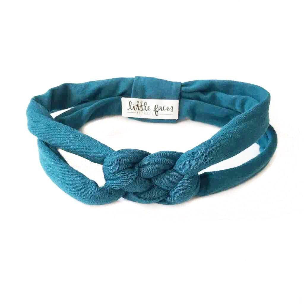 Teal Celtic Knot Headband