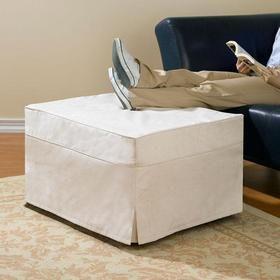 Folding Ottoman Sleeper Guest Bed Folding Ottoman Ottoman Bed Slipcovers