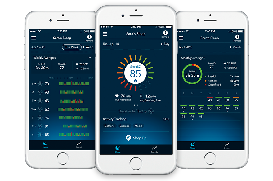 Sleep Tracker Track And Optimize Your Sleep Sleep Number Sleep Tracking Device Sleep Tracker Sleep