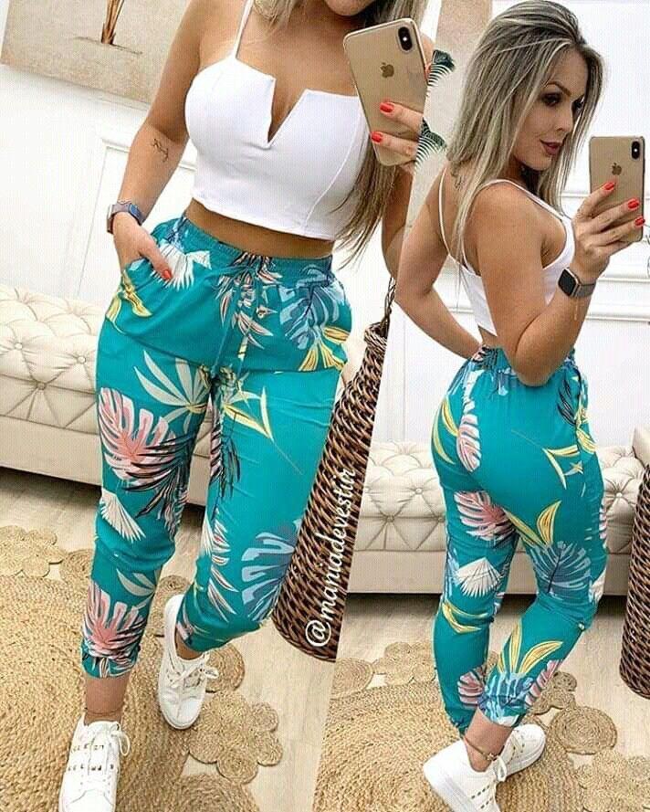 Pantalones Casuales De Cintura Alta Con Rejilla Y Bolsa De Papel En 2020 Pantalones De Moda Mujer Tiendas De Ropa Mujer Bragas De Moda