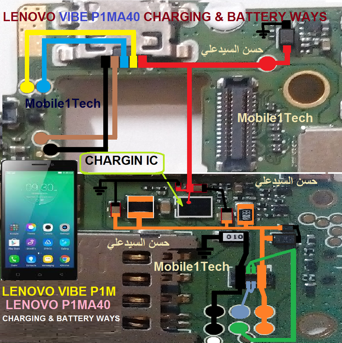 Lenovo Vibe P1m Usb Charging Problem Solution Jumper Ways