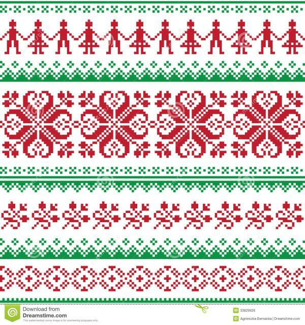 Ugly Christmas Sweater Pattern.Pin On Jaquardstrickmuster