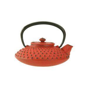 Tetera con infusor para el té Arita rojo  Contenido: 0,6 L
