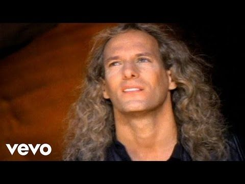 Youtube Said I Loved You But I Lied Cause This Is More Than Love I Feel Inside Said I Loved You But I Was Michael Bolton Youtube Videos Music Best