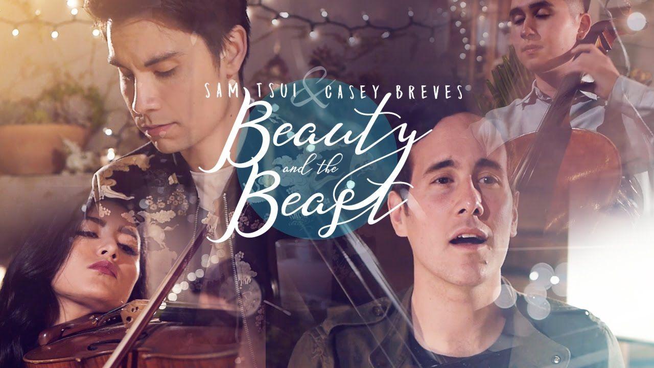 Beauty And The Beast Sam Tsui Casey Breves Youtube Sam