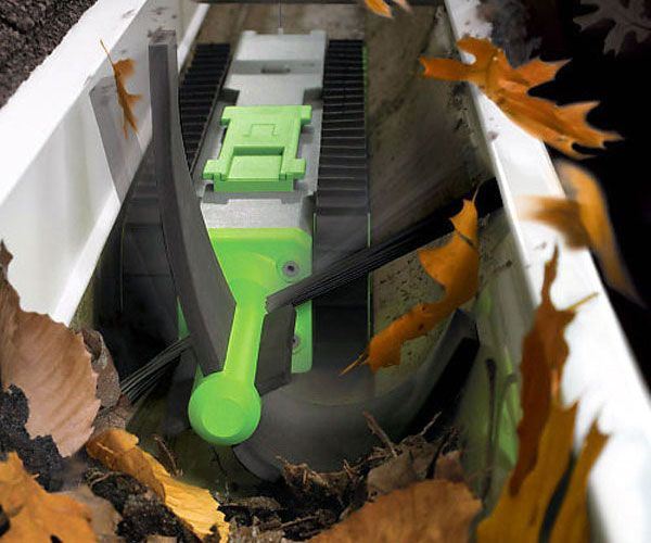 Take All The Hard Work Out Of Cleaning Your Gutters With The Irobot Looj Gutter Cleaner This Gutter Clean Cleaning Robot Cleaning Gutters Gutter Cleaning Tool