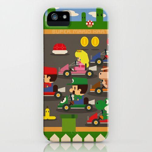 mario kart iPhone Case | Iphone cases | Super mario kart