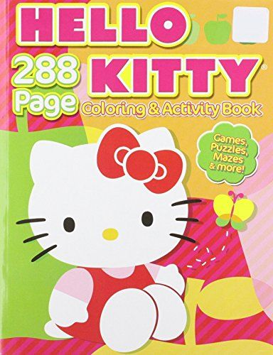Hello Kitty Coloring Activity Bendon Publishing International 9781593948887 Amazon Com Bo In 2020 Hello Kitty Coloring Kitty Coloring Hello Kitty Colouring Pages