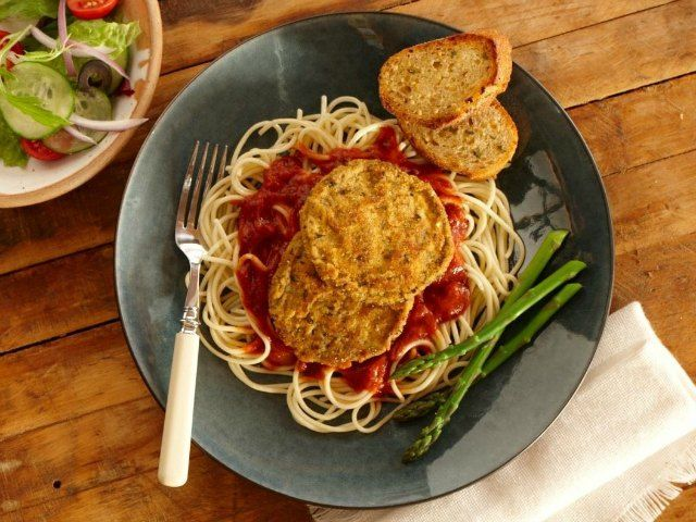 Eggplant Parmesan one of the students favorite meals!