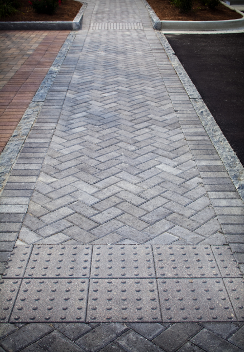 4x8 Herringbone Crosswalk Re Pins Amp Ideas Concrete