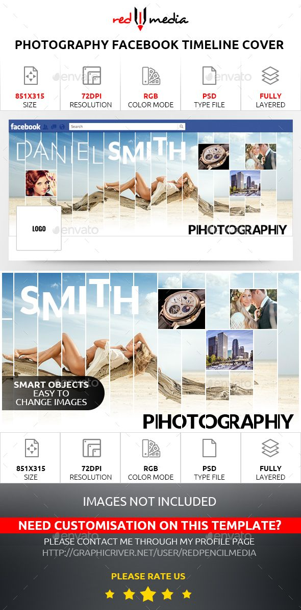 Photography Facebook Timeline Cover Timeline, Timeline covers - advertising timeline template