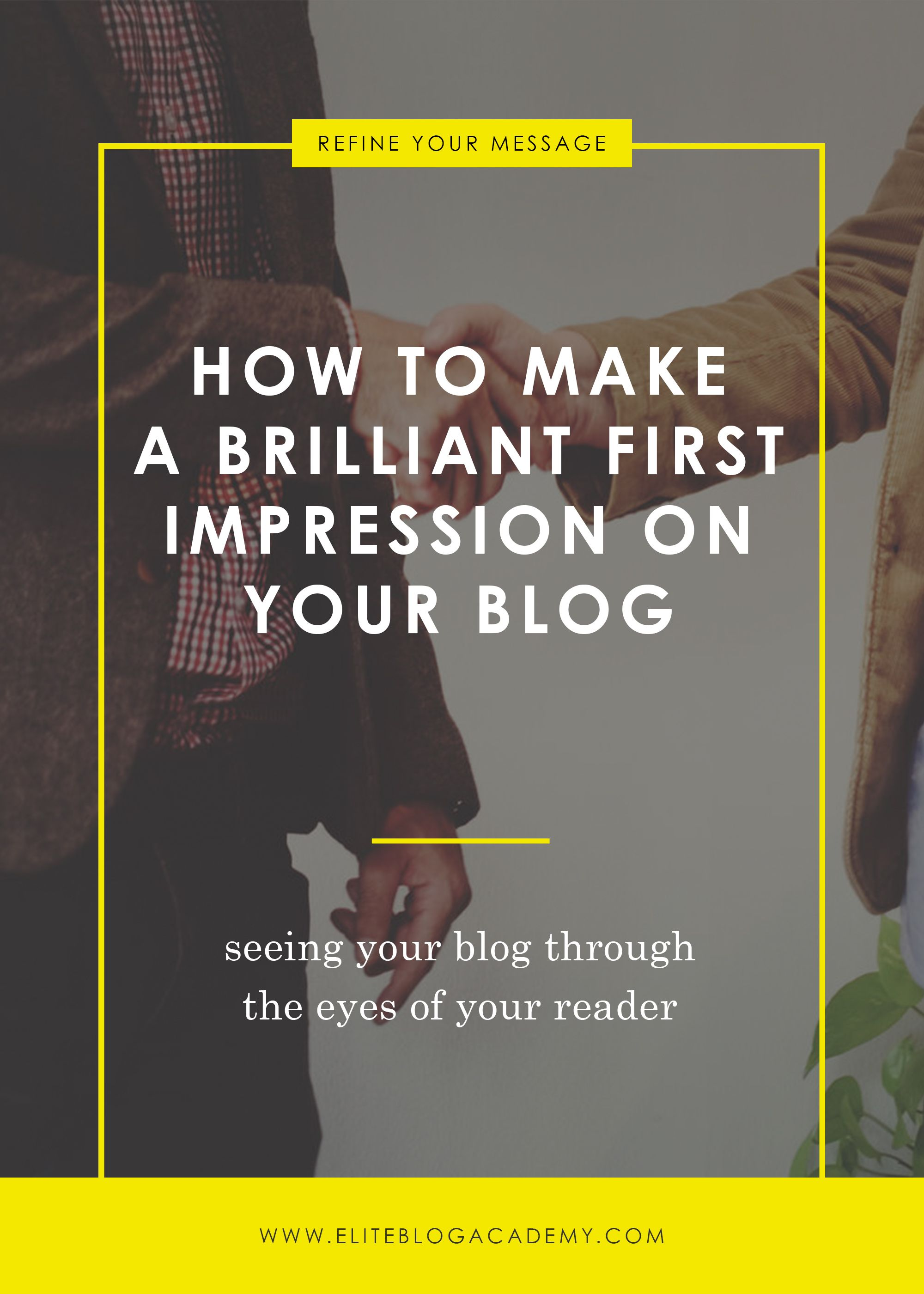 You only get one chance to make a first impression, and in the world of blogging, you've got to make it FAST! When someone visits your blog, you literally have only seconds to convince them they've landed in the right place and should keep reading. So how do you do that? By putting yourself in your readers' shoes! If you've been struggling to connect, don't miss these key blog organization strategies to help you make a brilliant first impression on your readers.
