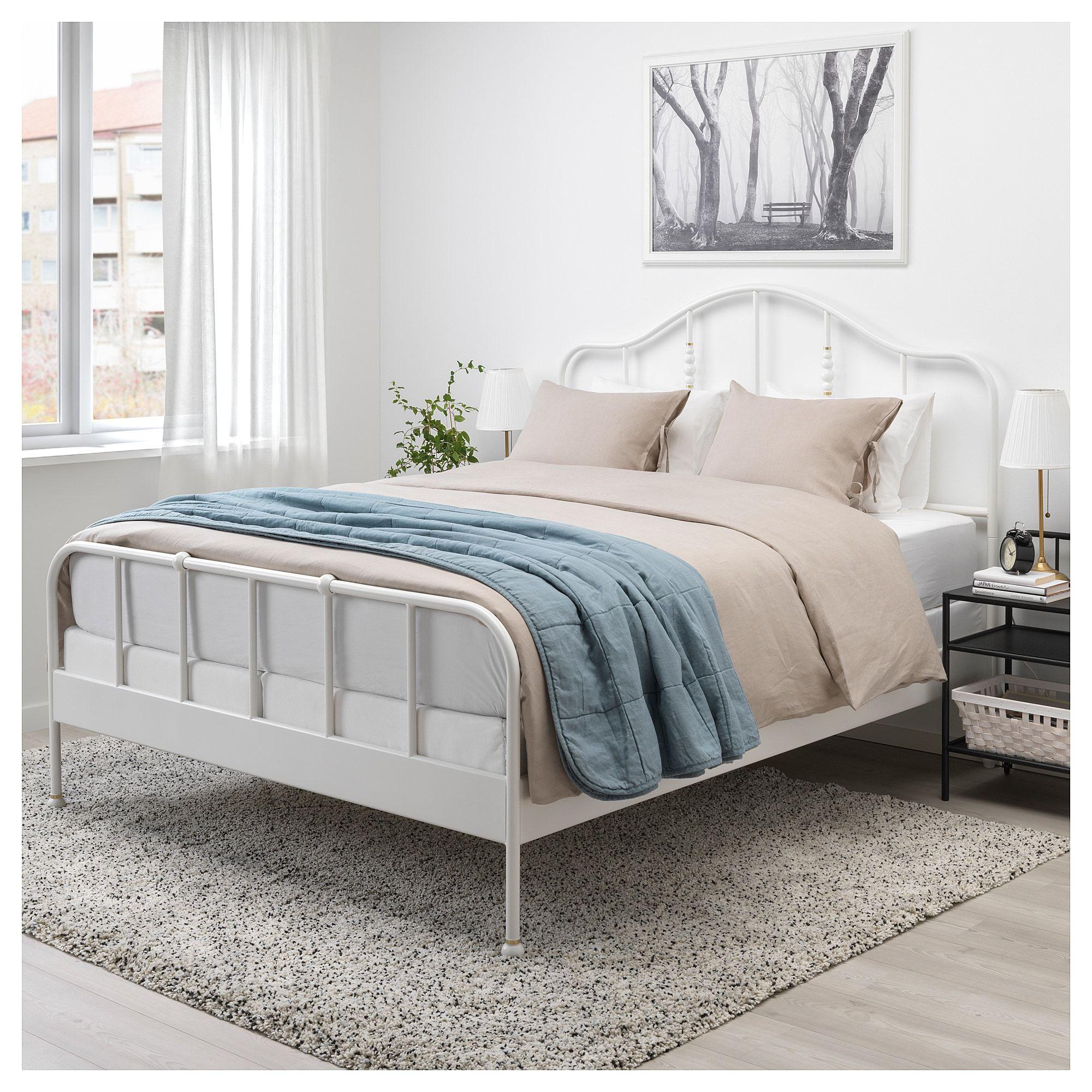 Sagstua Bed Frame White Eidfjord Full Bed Frame Ikea Bed