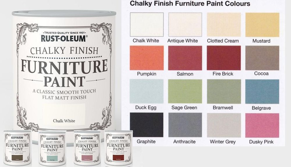 Rust Oleum Chalk Chalky Furniture Paint