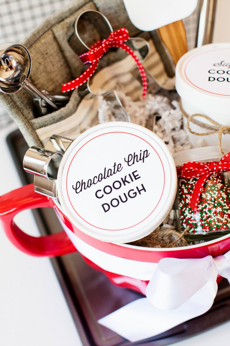 Holiday Cookie Gift Basket | Gift Baskets | Pinterest | Gift baskets ...