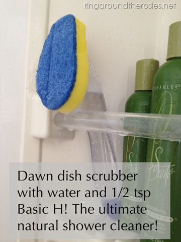 Natural Shower Cleaner And Such A Time Saver! Perfect For Preparing Your  Home For The