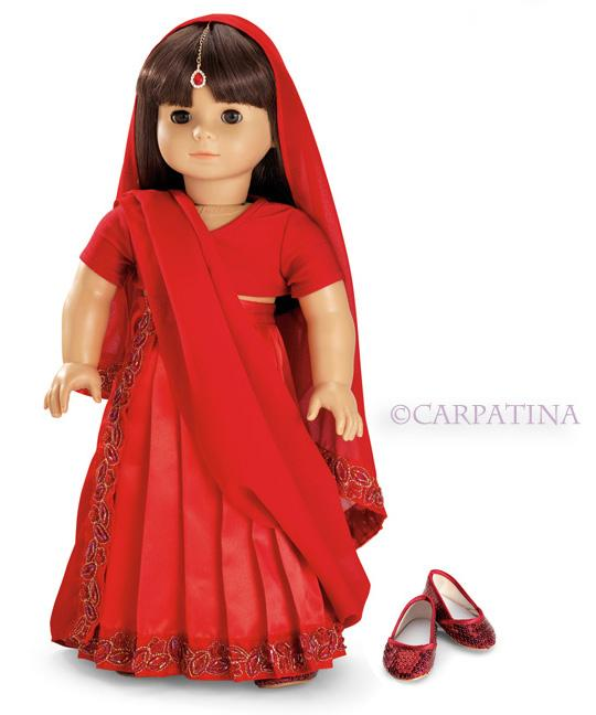 Indian Sari Doll Outfit - Lg #saridress