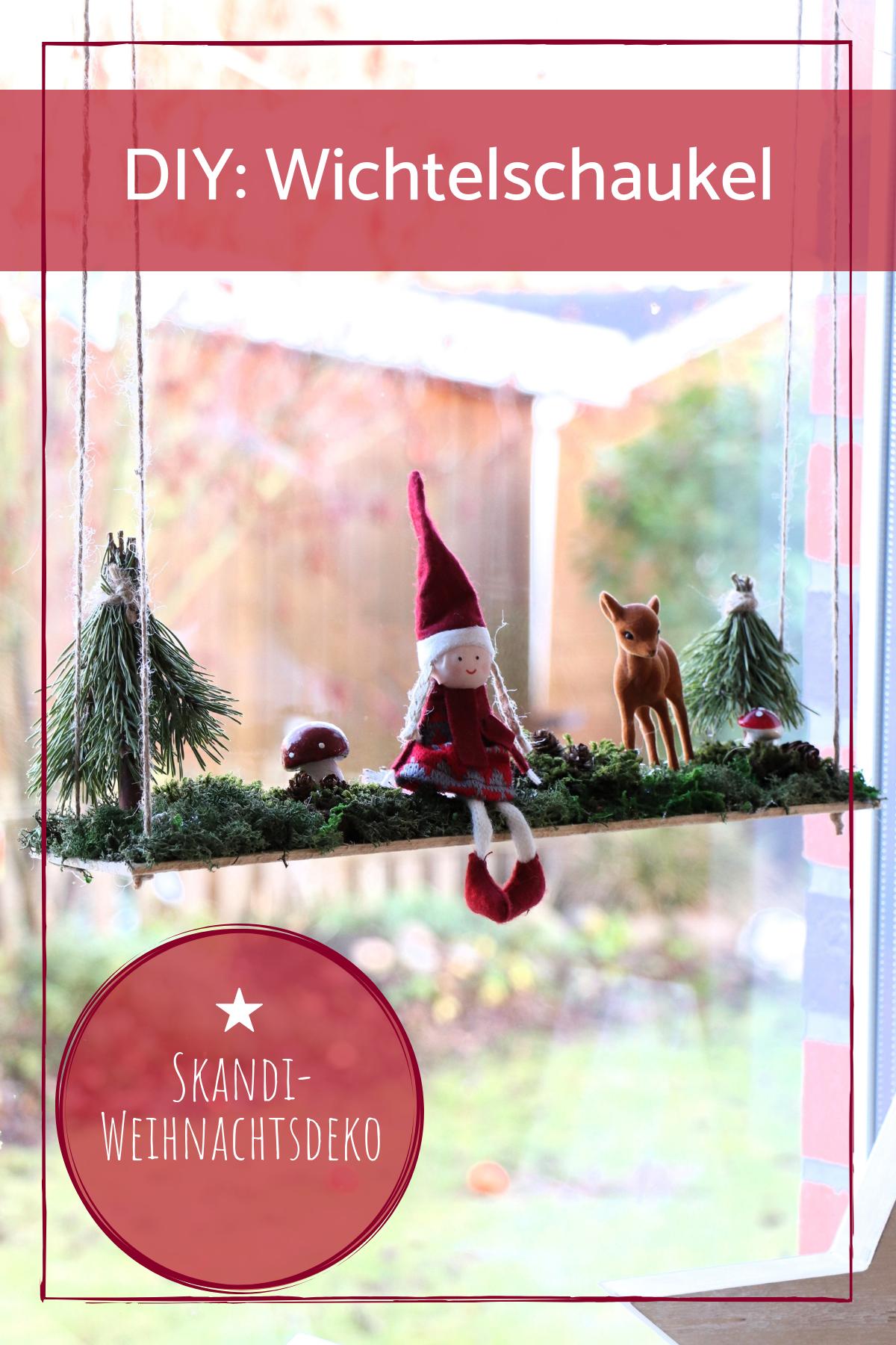 Photo of DIY: Imp swing as a Christmas window decoration