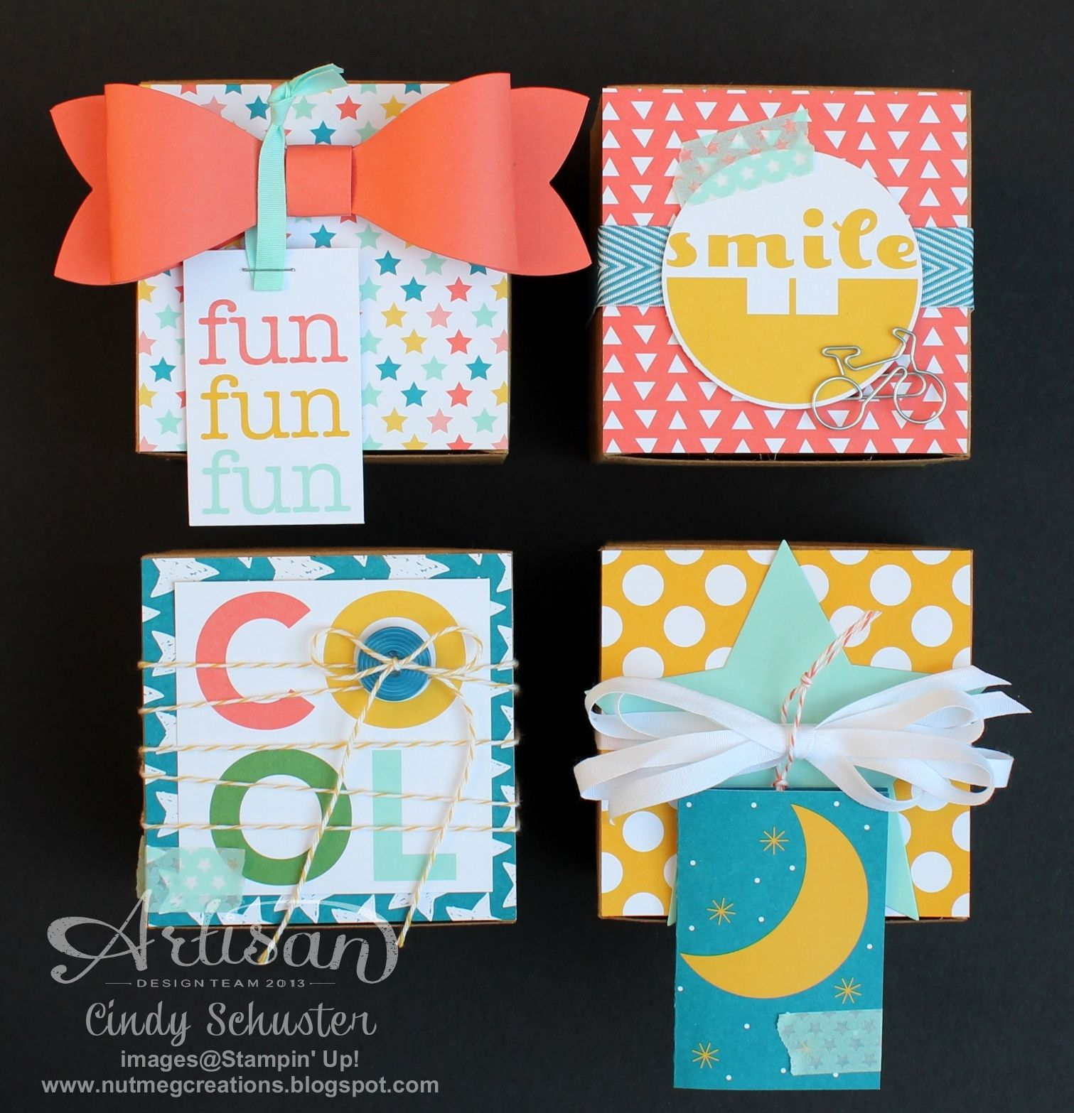 Project Life® by Stampin' UP!® Gift Boxes - Artisan WOW