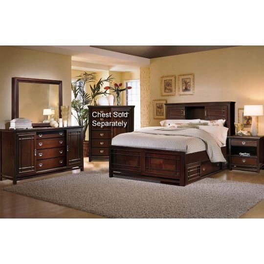 Rivers Edge 7 Piece Queen Bedroom Set