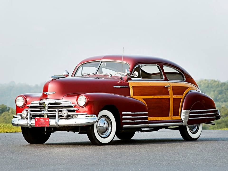 1948 Chevrolet Fleetmaster Woody Coupe With Images Classic