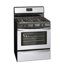 Shop Frigidaire 30-in 5-Burner Freestanding Gas Range (Stainless Steel) at Lowes.com