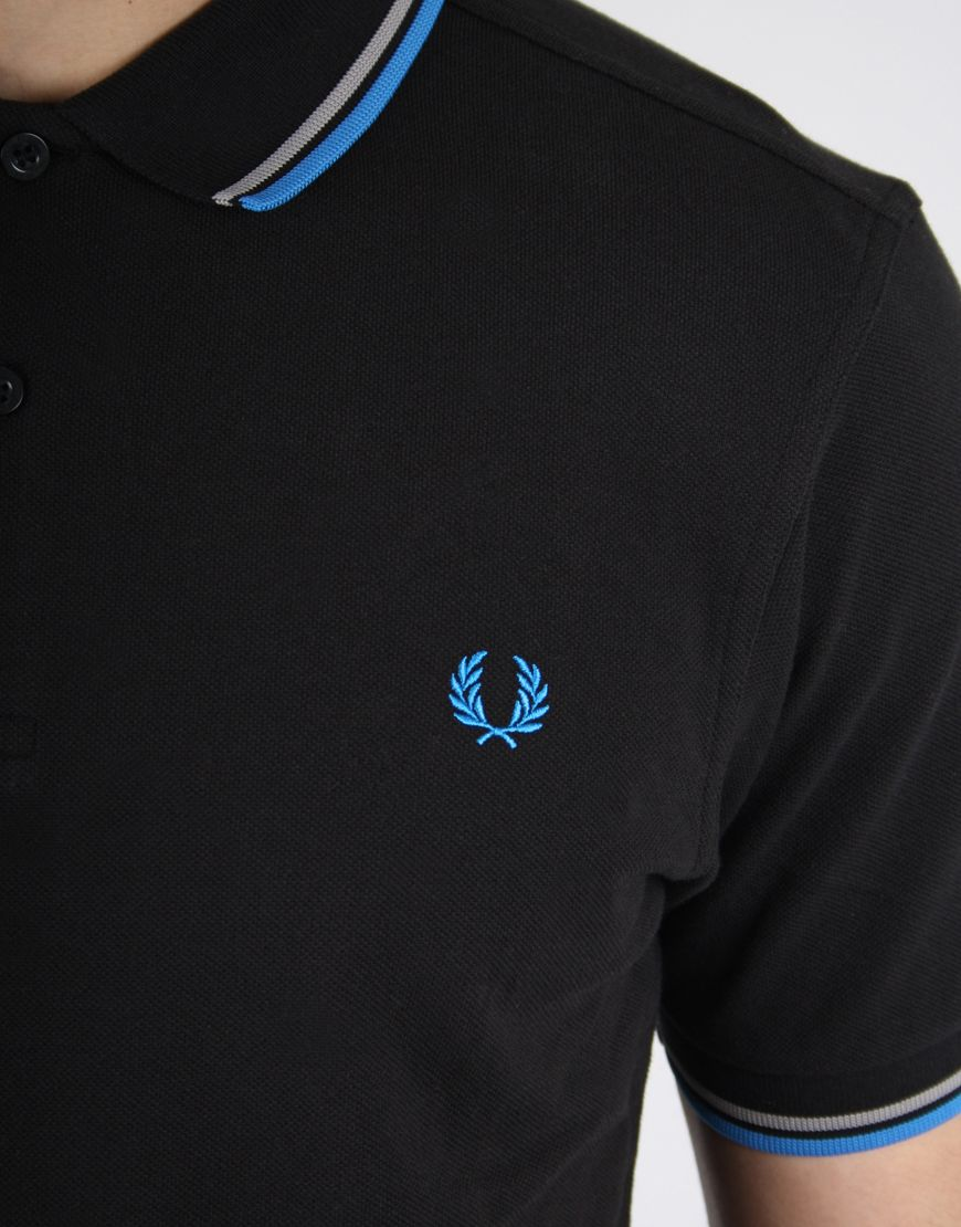 ef4f04e35 Fred-Perry-Twin-Tipped-Polo-Black-Blue-3-