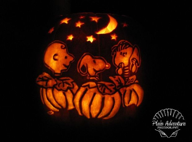 Pin On It S The Great Pumpkin Carvings Charlie Brown