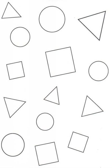 Figuras Geometricas Dibujos Para Colorear With Images