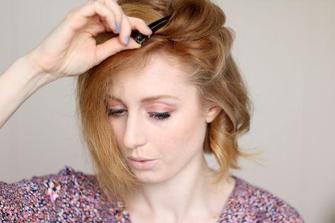 Hilfe Tipps Locken Mit Dem Glatteisen Frisur Haare Styling