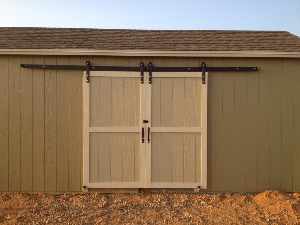 Diy barn door kits exterior barn door hardware - How to install an exterior sliding barn door ...