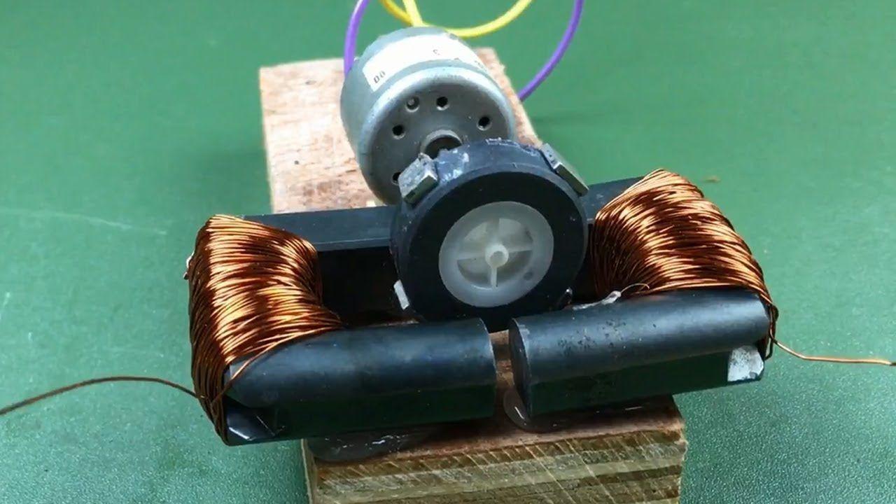 Magnetic Diagram Of A Dc Motor