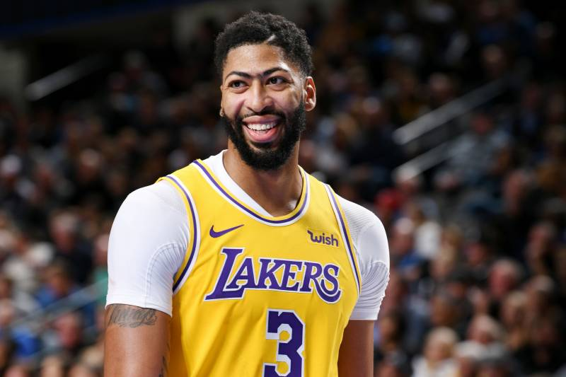 Lakers Anthony Davis Clarifies Comments About Free Agency Signing With Bulls Anthony Davis Lakers Los Angeles Lakers