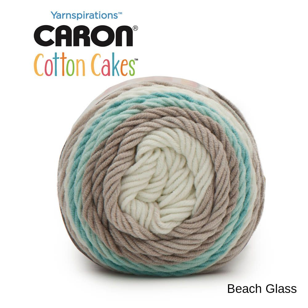 Caron Cotton Cakes Beach Glass