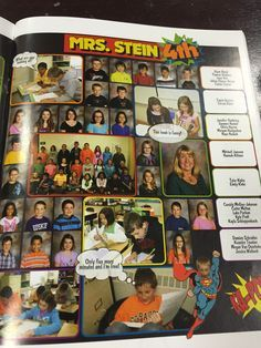 comic book yearbook ideas superhero yearbook examples layout