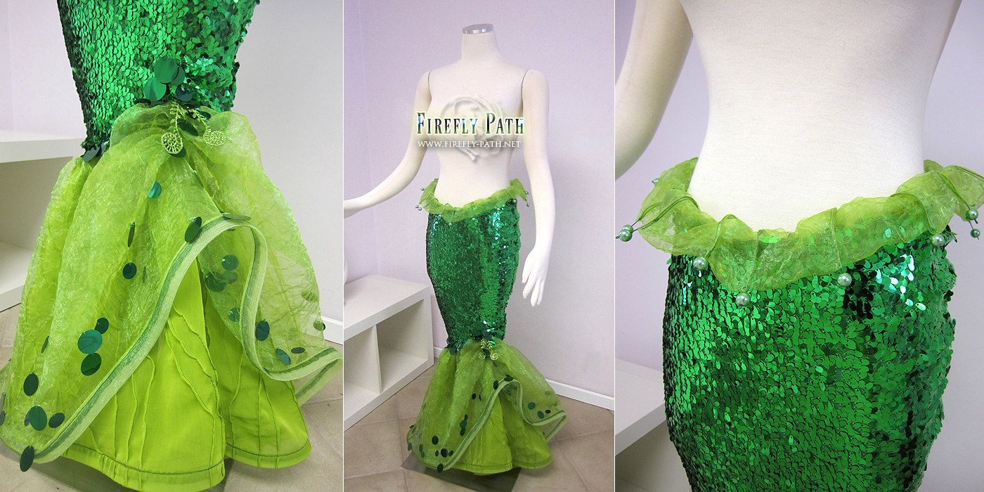 The Little Mermaid Tail Skirt by FireflyPath on Etsy, $525.00