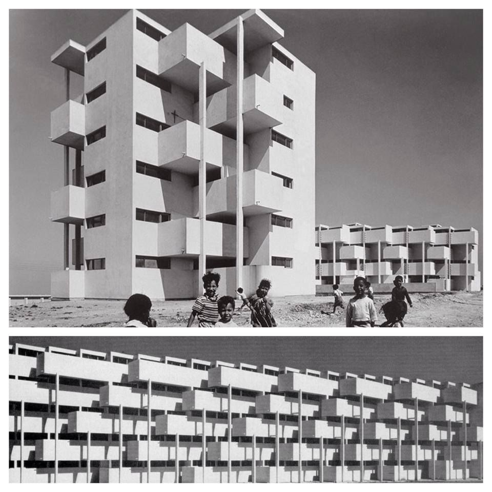 Housing project in Casablanca, Bodiansky, Candilis, Piot and Woods