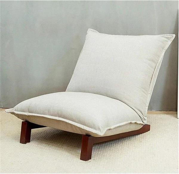 Fauteuil Style Japonais Inclinable Ultra Moelleux Diaminimal Wohnzimmermobel Modern Stuhl Stoff Japanische Wohnzimmer