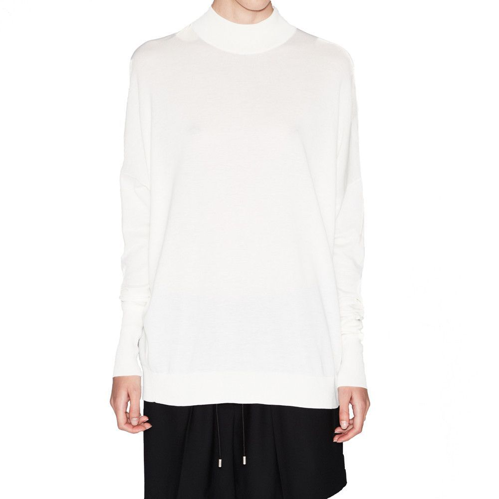 Acne Studios Marvin Off White Pullover Sweater-gordonstuart.com ...