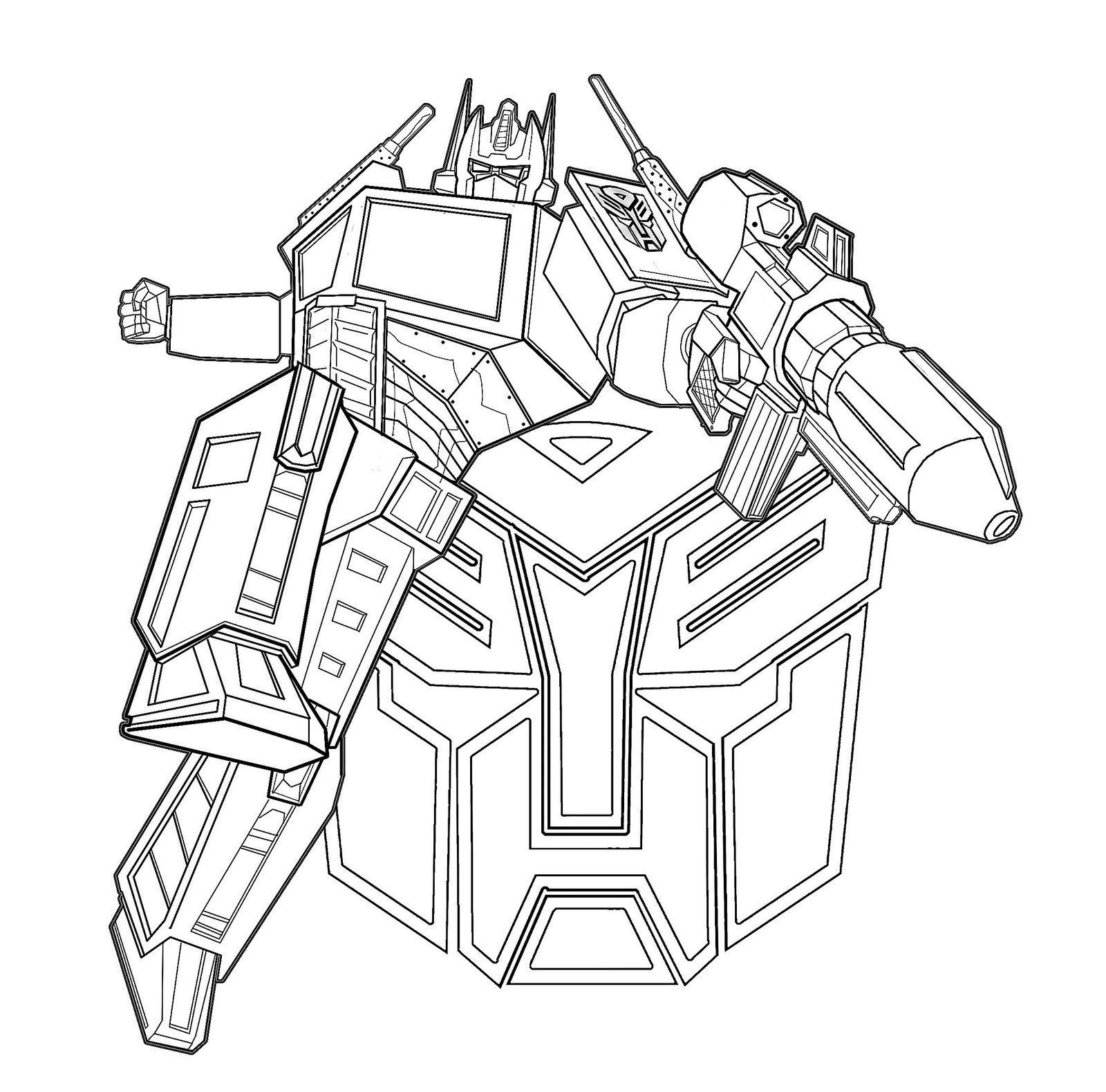Transformer Coloring Pages For Kids 2019 Transformers Coloring