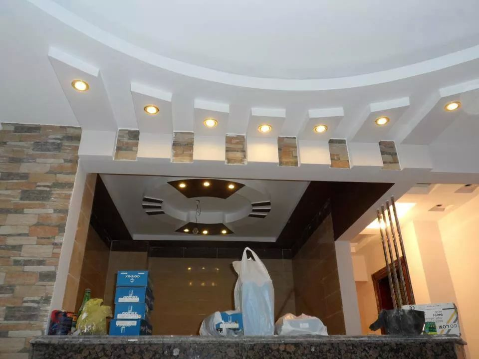 False ceiling types to false ceiling lights or false ceiling for bat false ceiling types to false ceiling lights or false ceiling for bat you can add blue pop false ceiling work apna projects is the leading office and aloadofball Gallery