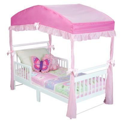Delta Girls Toddler Bed Canopy - Pink  sc 1 st  Pinterest & Delta Girls Toddler Bed Canopy - Pink | Furniture u0026 Food ...