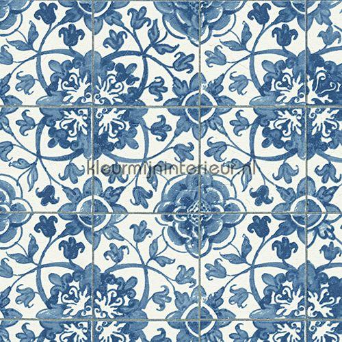 Azulejos tegels met relief behang 962471, Faro 4 van AS Creation - fliesen tapete küche