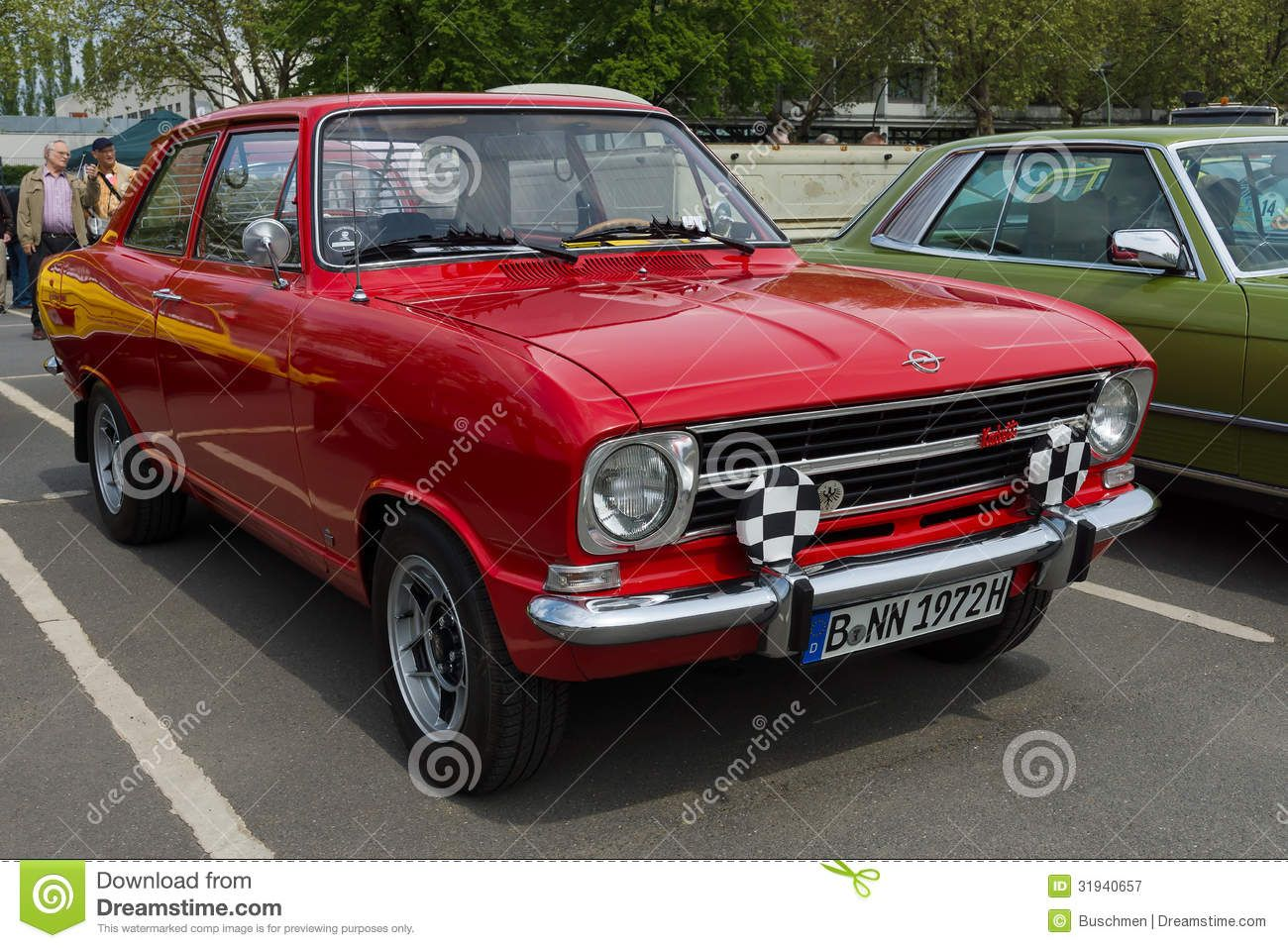 Image illustrative de l article opel ascona - Car Opel Kadett B Door Limousinelin
