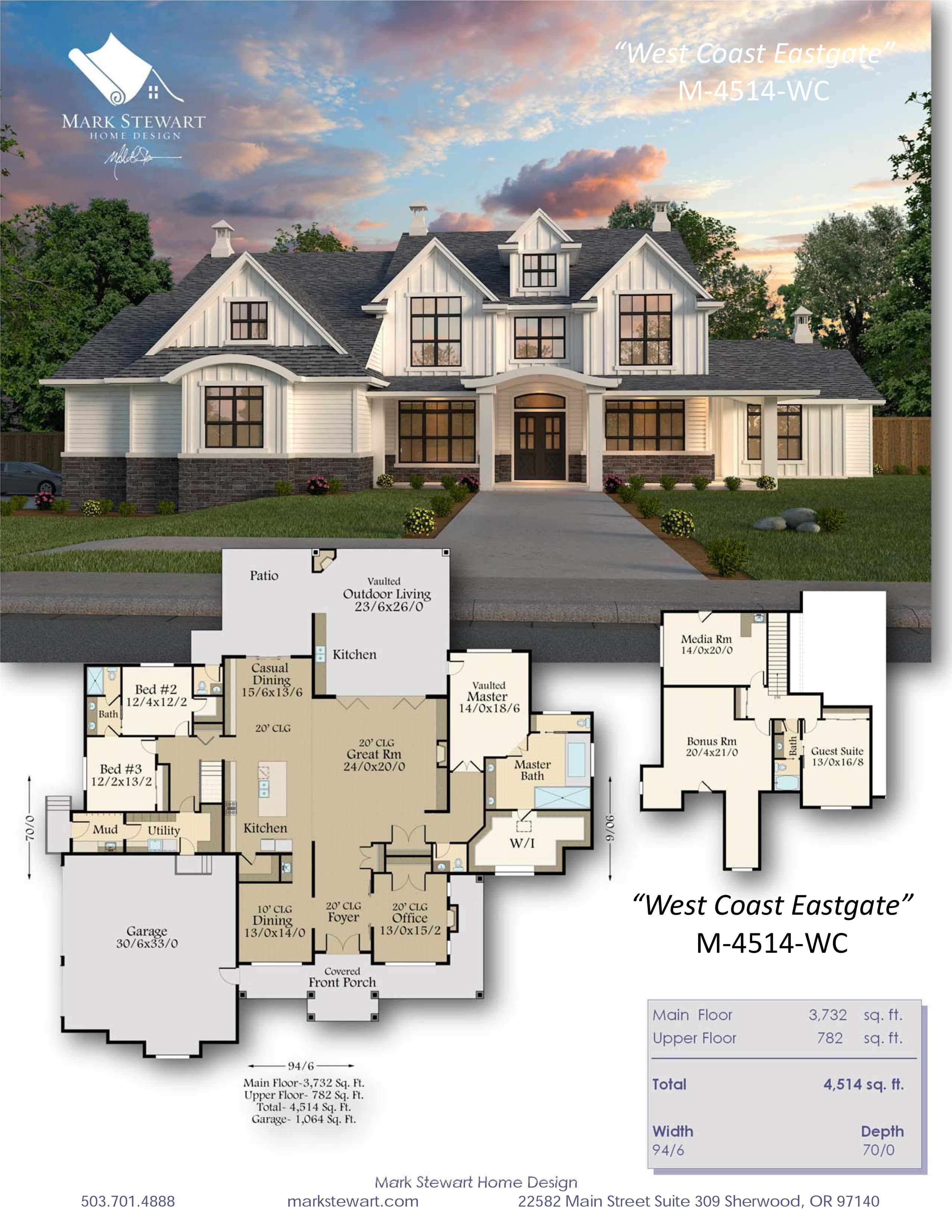 West Coast Eastgate House Plan in 2020 Dream house plans