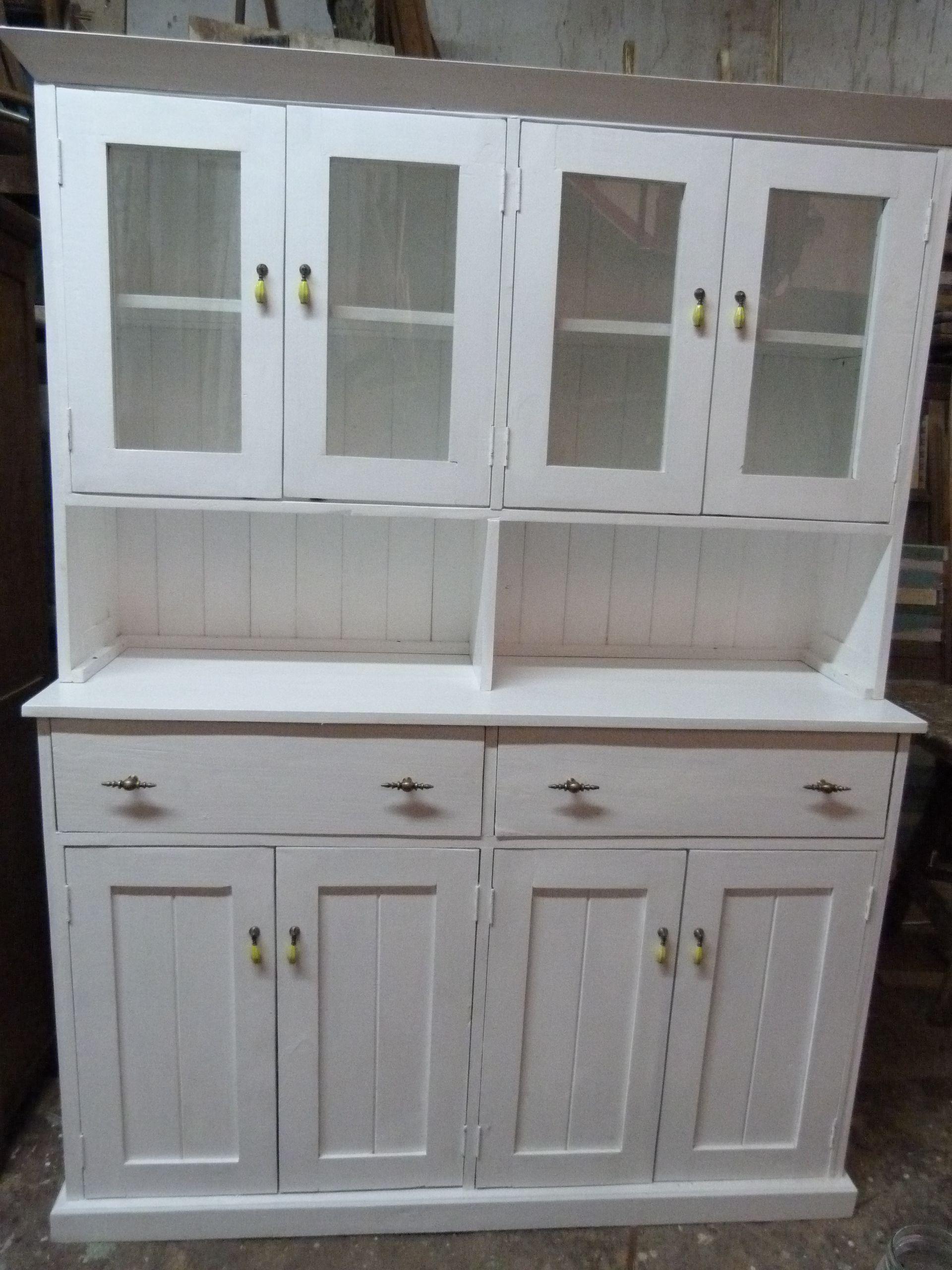 Muebles Con Alzada Muebles Rusticos Madera Reciclada Ropero  # Muebles Pura Madera