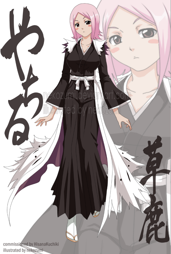 Anime Characters Grown Up : Bleach grown up yachiru by nekozumi anime