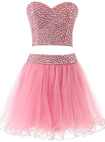 Sisjuly Women's Short Two Pieces Sweetheart Neck Beaded Cocktail Dress US6 Pink Sisjuly http://www.amazon.com/dp/B019UY7O5U/ref=cm_sw_r_pi_dp_1UTLwb1XMQPD6