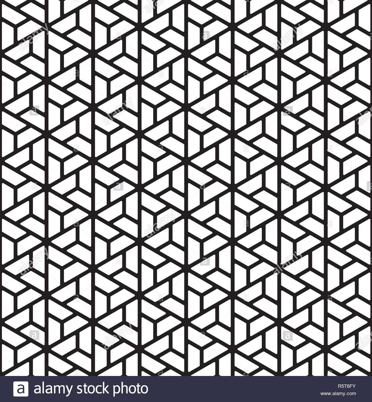 nahtlose muster auf kumiko ornament silhouette mit dicken linien geeignet fur laser oder design abgerundete ecken s malvorlagen vektorgrafik photoshop vektordatei erstellen mercedes stern vektor