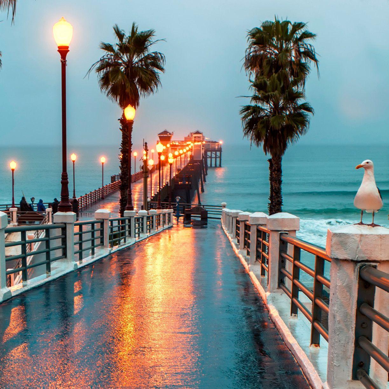 The Pier: Oceanside Pier, San Diego County, California